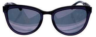 Chanel Cat-Eye Winter Sunglasses
