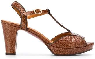 Chie Mihara textured chunky sandals