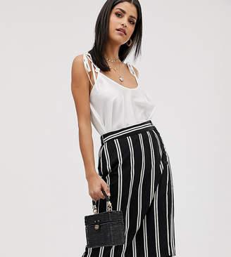 4dad3724c2 Vero Moda Tall stripe button thru midi skirt