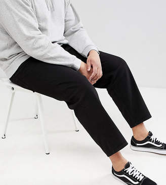 Asos DESIGN PLUS Skater Jeans In Black