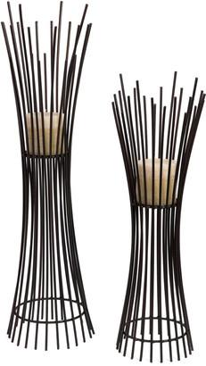 Imax Metal Candleholder Duo