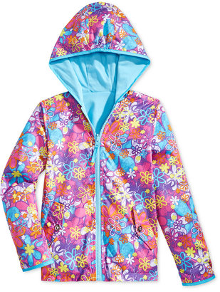 S. Rothschild Little Girls' or Toddler Girls' Reversible Hooded Jacket $46 thestylecure.com