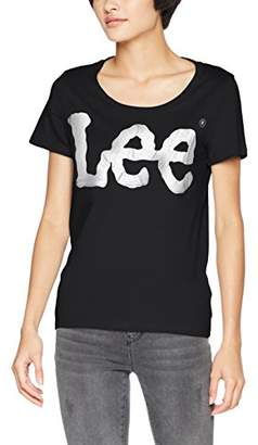 Lee Women's Glitter Logo T T-Shirt