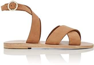 KYMA Women's Patmos Suede Crisscross-Strap Sandals