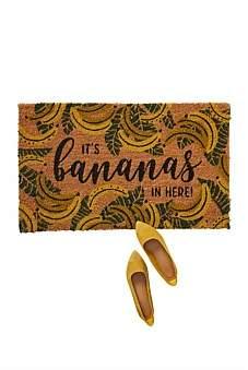 Anthropologie Bananas Doormat
