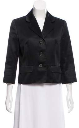 Celine Notched-Lapel Casual Blazer