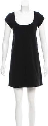 Diane von Furstenberg Mini Open Back Dress