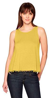 Three Dots Women's Vintage Jersey Sleeveless Short Loose Tank