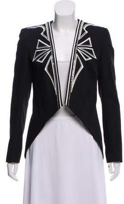 Sass & Bide Embellished Collarless Jacket