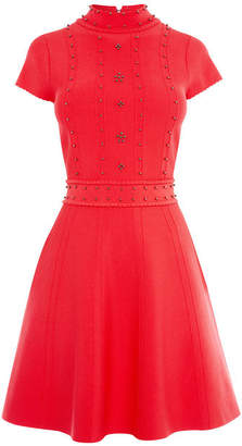 Karen Millen Embellished Knit Dress
