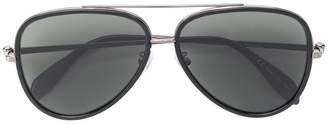 Alexander McQueen Eyewear aviator shaped sunglasses