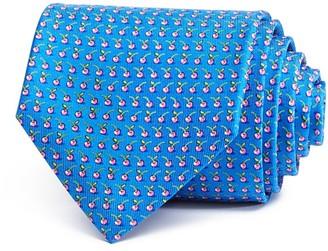 Salvatore Ferragamo Cherries Neat Classic Tie $190 thestylecure.com