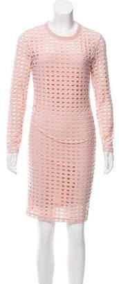Alexander Wang Polka Dot Knee-Length Dress