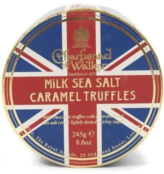Charbonnel et Walker Union Jack Milk Sea Salt and Caramel Truffles 245g