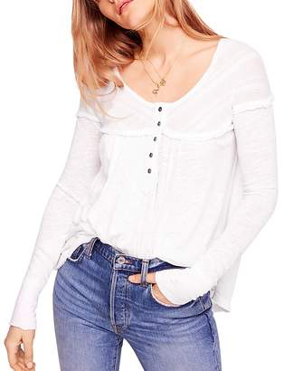 Free People Down Under Henley Top