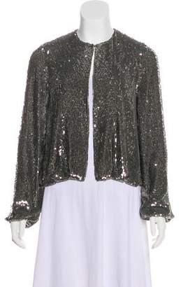 Alexis Silk Sequin Jacket