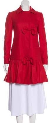 RED Valentino Wool Short Coat