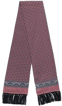 Dolce & Gabbana printed fringe hem scarf