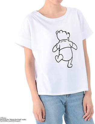 Melrose (メルローズ) - MELROSE CLAIRE 【Disney】プーさんコラボTシャツ
