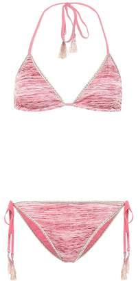 Missoni Mare Striped knit bikini