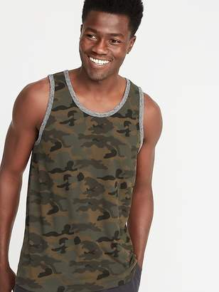 Old Navy Soft-Washed Patterned Tank for Men