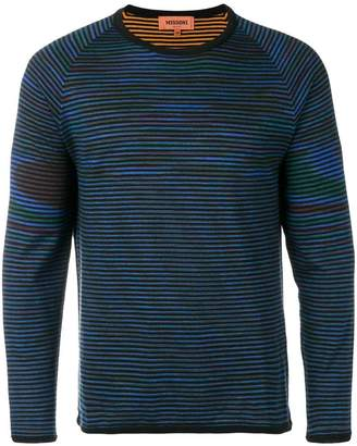 Missoni reversible striped sweater
