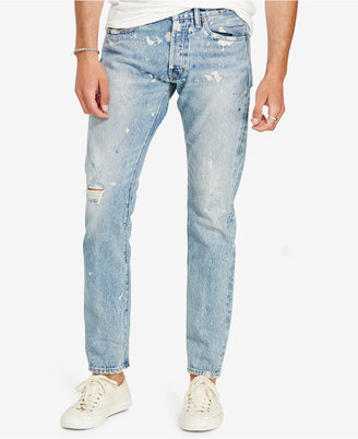 Denim & Supply Ralph Lauren Men's Prospect Slim Ripped Jeans $165 thestylecure.com