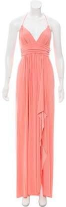MISA Los Angeles Halter Maxi Dress w/ Tags