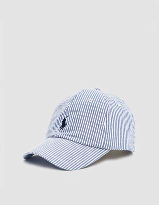 Polo Ralph Lauren Classic Seersucker Cap