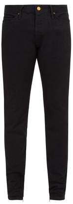 Fear Of God - Selvedge Denim Skinny Jeans - Mens - Black