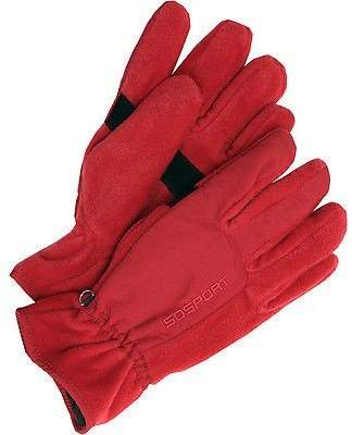 Isotoner Mens Polar Fleece Gloves One