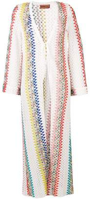 Missoni Mare v-neck knit dress