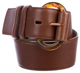 Valentino Leather Waist Belt