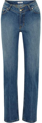 Opening Ceremony Dip Mid-rise Straight-leg Jeans - Light denim