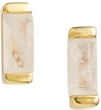 Women's Leah Alexandra Semiprecious Stone Stud Earrings $72 thestylecure.com