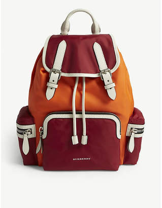 Burberry Parade Red Quilted Rucksack