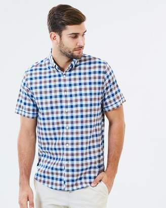 Sportscraft Short Sleeve Tapered Wentworth Shirt