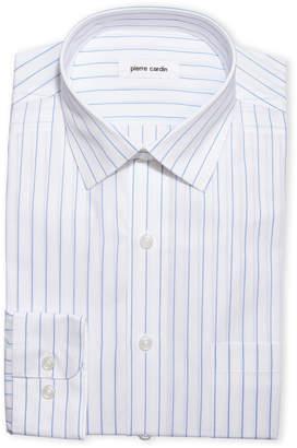 Pierre Cardin Striped Easy Care Dress Shirt