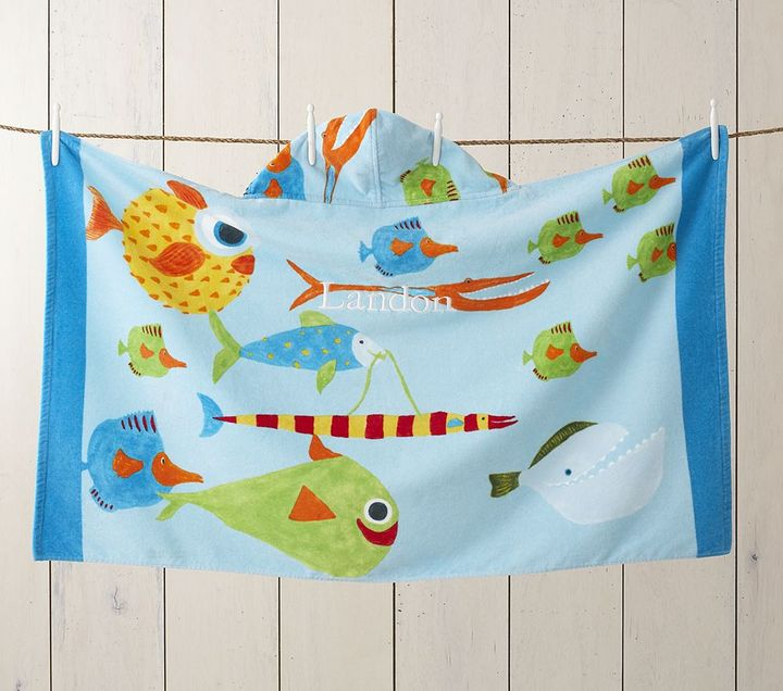 Boys' Fish Beach Wrap