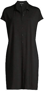 Eileen Fisher Women's Classic Collar Shirtdress