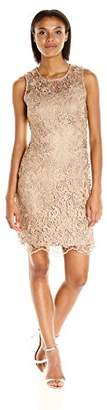 Calvin Klein Women's Sleeveless Lace Sheath