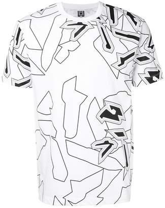 Les Hommes Urban graphic print T-shirt