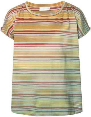 Faith Connexion faded stripe T-shirt