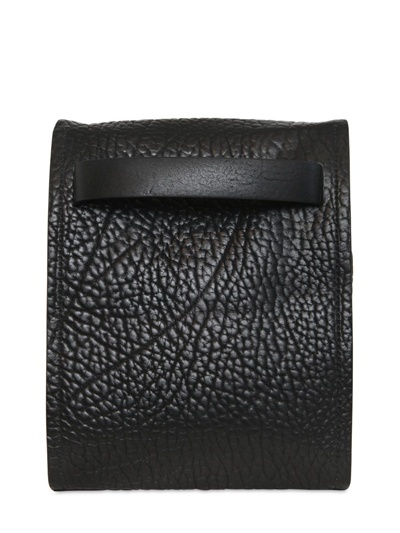 Jil Sander Medium Platone Print Leather Bag