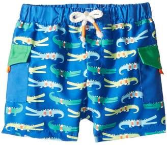 Mud Pie Marco Polo Alligator Swim Trunks Boy's Swimwear