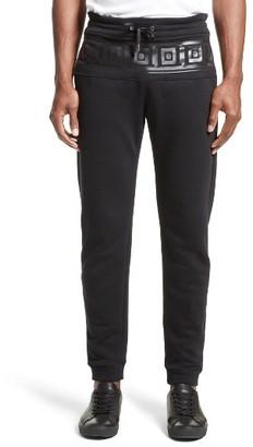 Men's Versace Collection Frame Print Sweatpants $295 thestylecure.com