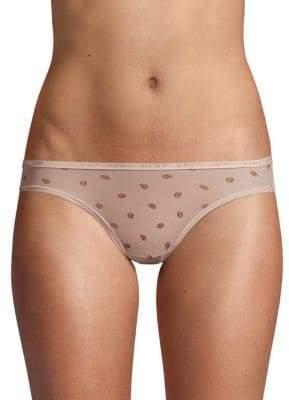 DKNY Printed Bikini Bottom