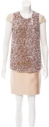 J. Mendel Embellished Two-Piece Skirt Set