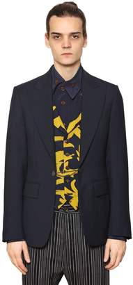 Vivienne Westwood Cool Wool Jacket With Printed Vest