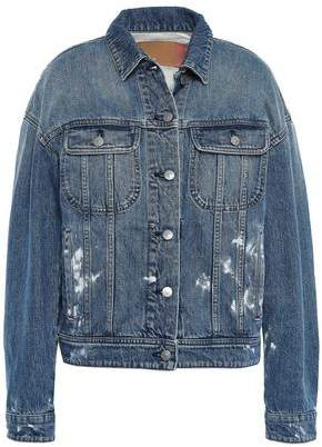 Acne Studios Painted Denim Jacket